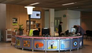 Banque d'accueil – Médiathèque de Francheville – 69